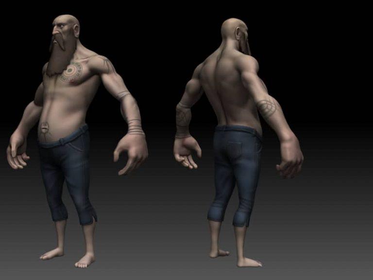 Dezpad Men 3d Model